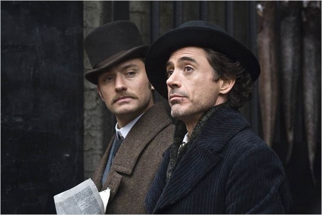 Sherlock Holmes : Photo Jude Law, Robert Downey Jr.