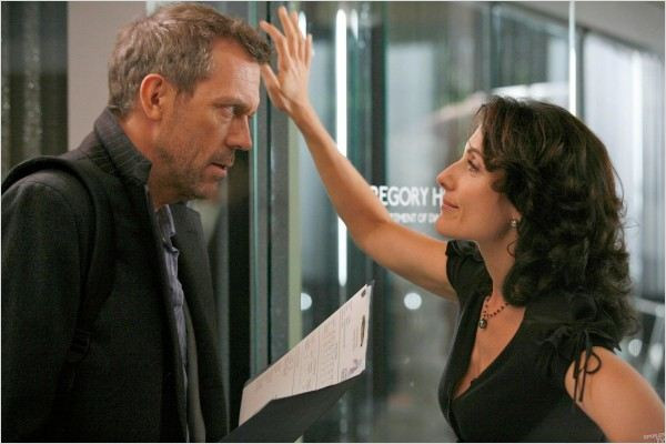 Dr House : photo Hugh Laurie, Lisa Edelstein