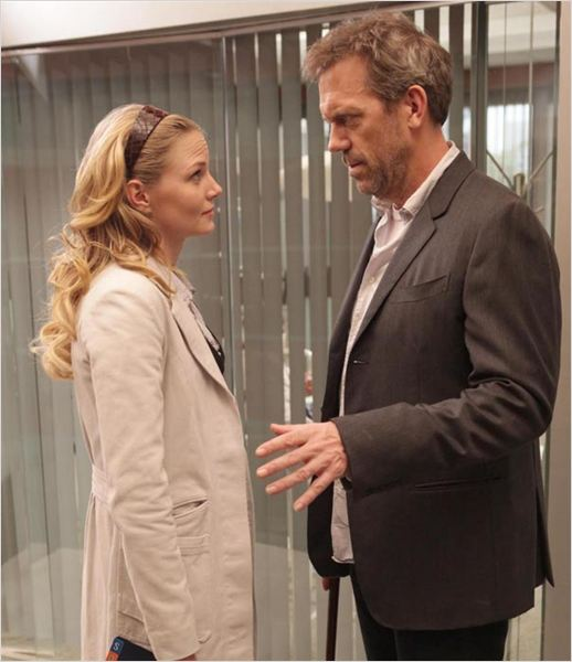 Dr House : photo Hugh Laurie, Jennifer Morrison