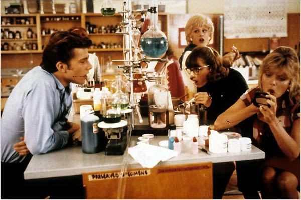 Grease 2 : photo Alison Price, Maureen Teefy, Maxwell Caulfield, Michelle Pfeiffer, Patricia Birch