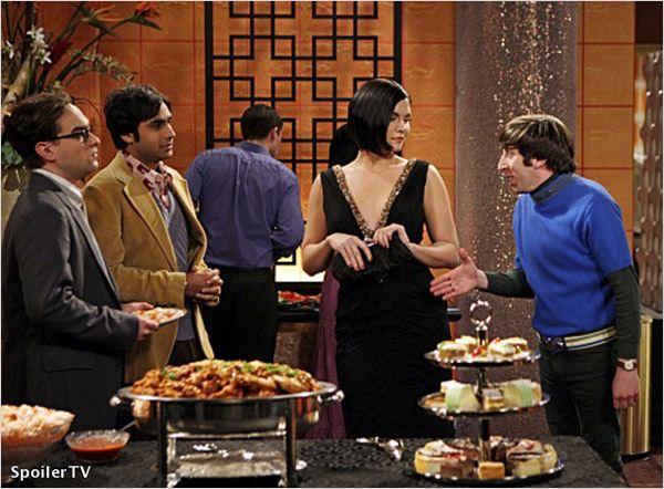 The Big Bang Theory : Photo Jodi Lyn O'Keefe, Johnny Galecki, Kunal Nayyar, Simon Helberg