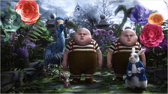 Alice au Pays des Merveilles : photo Matt Lucas, Tim Burton