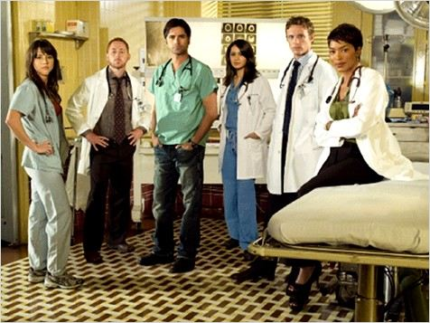 Urgences : Photo Angela Bassett, David Lyons, John Stamos, Linda Cardellini, Parminder Nagra