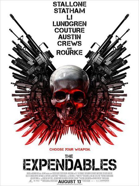 Expendables : unité spéciale : affiche Sylvester Stallone