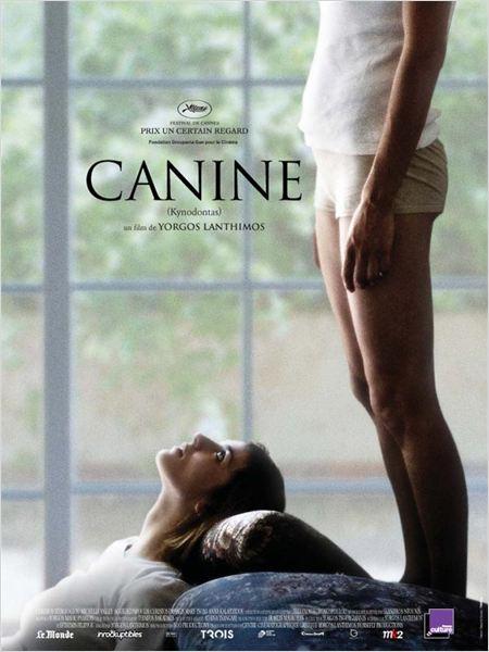 Canine : affiche Yorgos Lanthimos
