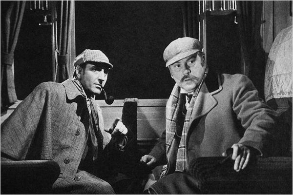 Le Chien des Baskerville : photo Nigel Bruce, Richard Greene, Sidney Lanfield