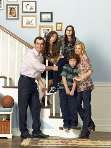 Modern Family : Photo Ariel Winter, Julie Bowen, Nolan Gould, Sarah Hyland, Ty Burrell
