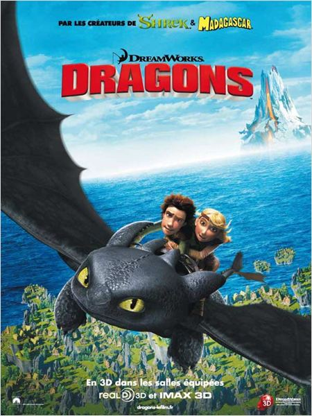 How To Train Your Dragon [TRUEFRENCH] [DVDRip] [MULTI]