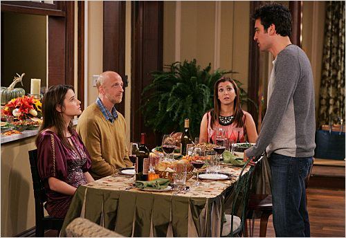 How I Met Your Mother : Photo Alyson Hannigan, Chris Elliott, Cobie Smulders, Josh Radnor