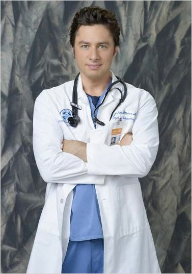 Scrubs : photo Zach Braff