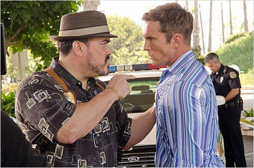 Photo David Zayas, Desmond Harrington