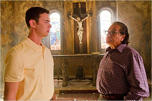 Photo Colin Hanks, Edward James Olmos