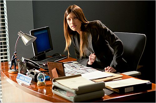 Dexter : photo Jennifer Carpenter