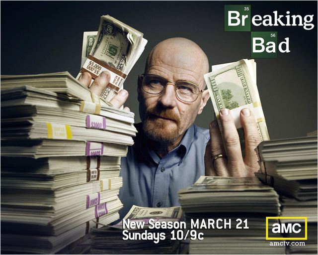 Breaking Bad : photo Bryan Cranston