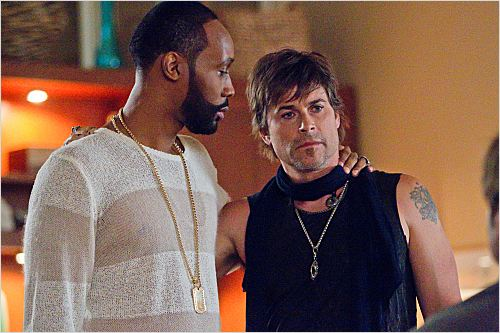 Californication : photo Rob Lowe, RZA