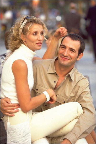 Un gars une fille photo de alexandra lamy et jean for Jean dujardin en couple