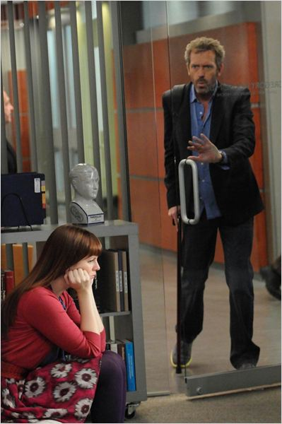 Dr House : photo Amber Tamblyn, Hugh Laurie