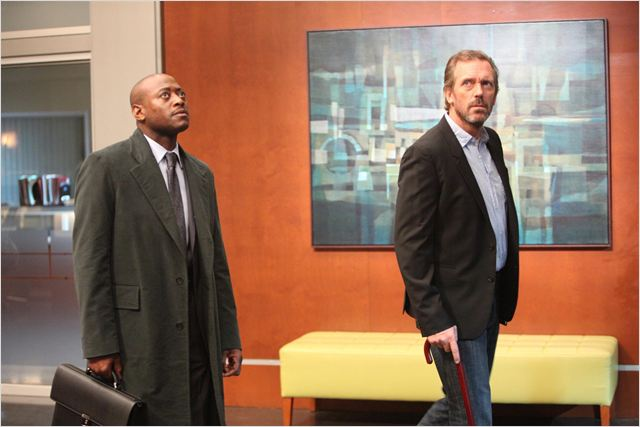 Dr House : photo Hugh Laurie, Omar Epps