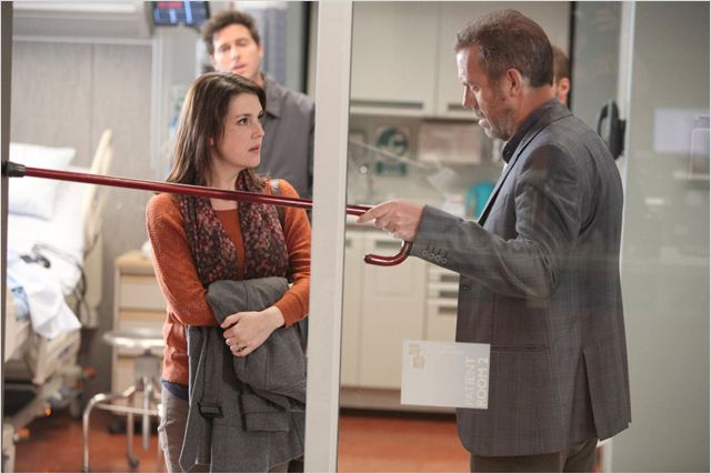 Dr House : photo Hugh Laurie, Melanie Lynskey