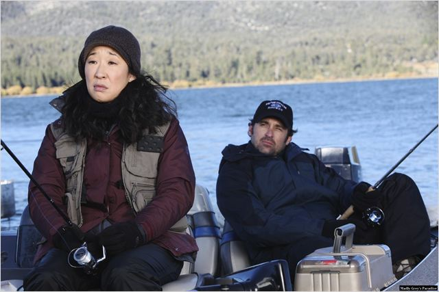 Grey&#39;s Anatomy : photo Patrick Dempsey, Sandra Oh