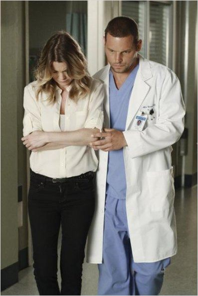 Grey's Anatomy : photo Ellen Pompeo, Justin Chambers