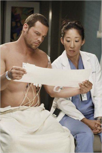 Grey's Anatomy : photo Justin Chambers, Sandra Oh