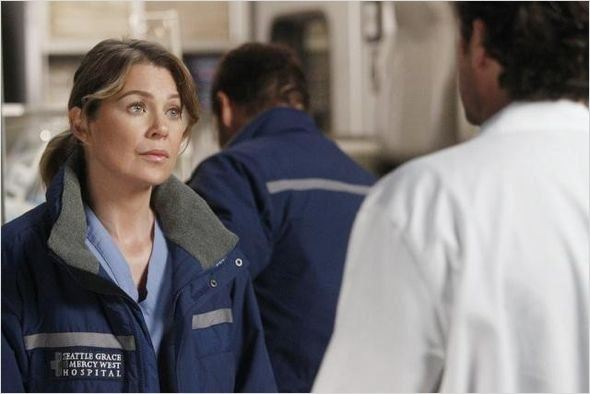 Grey&#39;s Anatomy : photo Ellen Pompeo, Patrick Dempsey