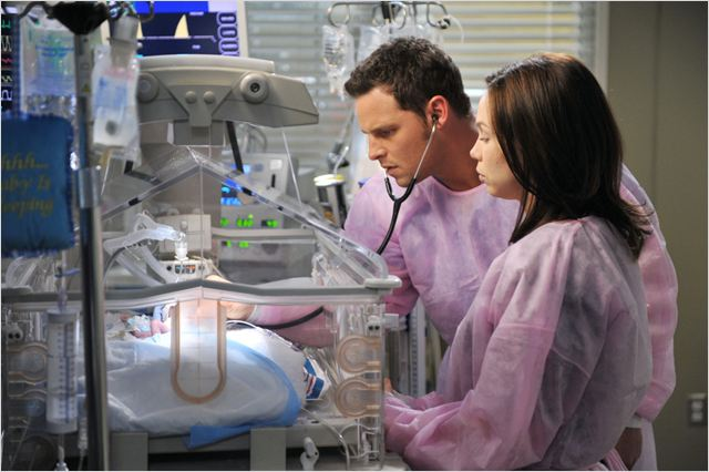 Grey's Anatomy : photo Amanda Fuller, Justin Chambers