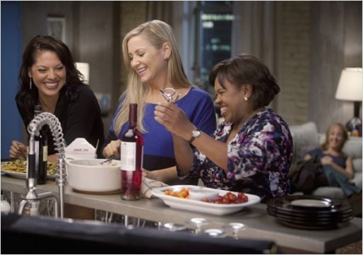 Grey&#39;s Anatomy : photo Chandra Wilson, Jessica Capshaw, Sara Ramirez