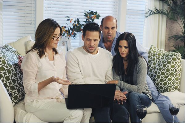 Cougar Town : photo Christa Miller-Lawrence, Courteney Cox, Ian Gomez, Josh Hopkins