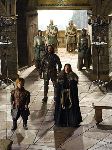 Game of Thrones : Photo Michelle Fairley, Peter Dinklage