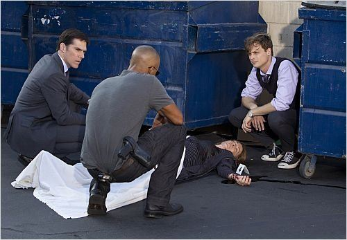 Photo Matthew Gray Gubler, Shemar Moore, Thomas Gibson