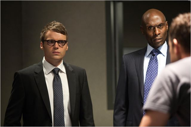 Photo Lance Reddick, Seth Gabel