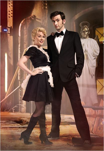 Photo David Tennant, Kylie Minogue