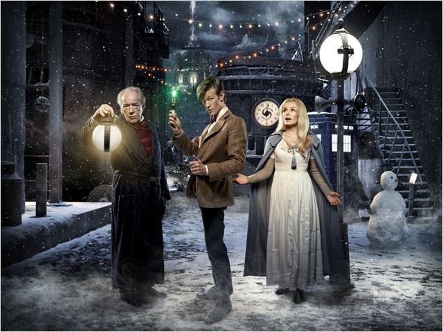 Photo Katherine Jenkins, Matt Smith (IV), Michael Gambon