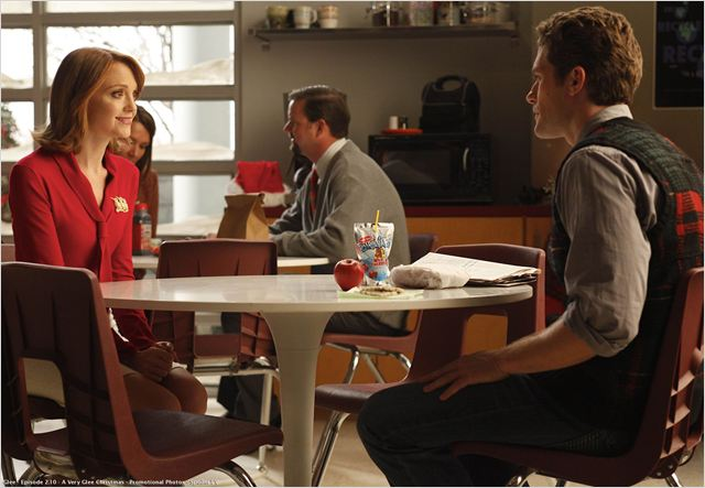 Glee : Photo Jayma Mays, Matthew Morrison