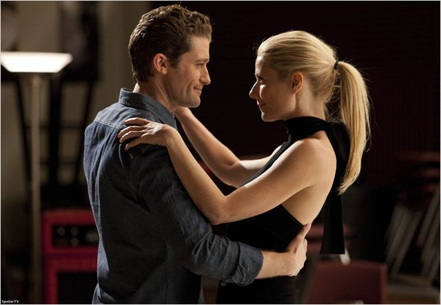 Glee : photo Gwyneth Paltrow, Matthew Morrison
