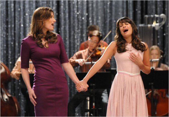 Photo Idina Menzel, Lea Michele