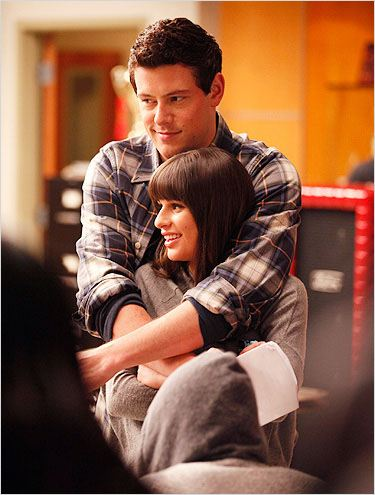 Photo Cory Monteith, Lea Michele
