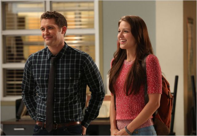 Glee : photo Matthew Morrison, Melissa Benoist