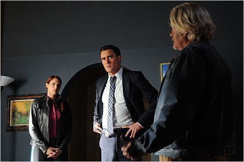 Mentalist : Photo Amanda Righetti, Owain Yeoman, William Forsythe