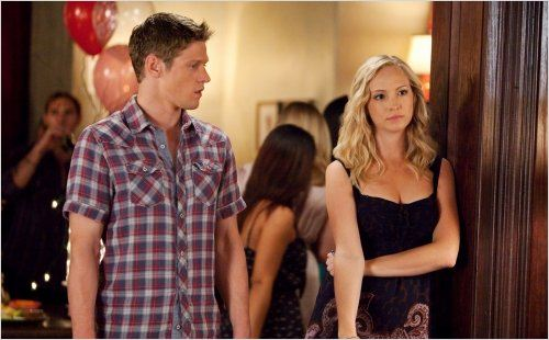 Photo Candice Accola, Zach Roerig