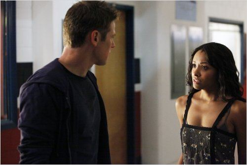 Vampire Diaries : photo Katerina Graham, Zach Roerig