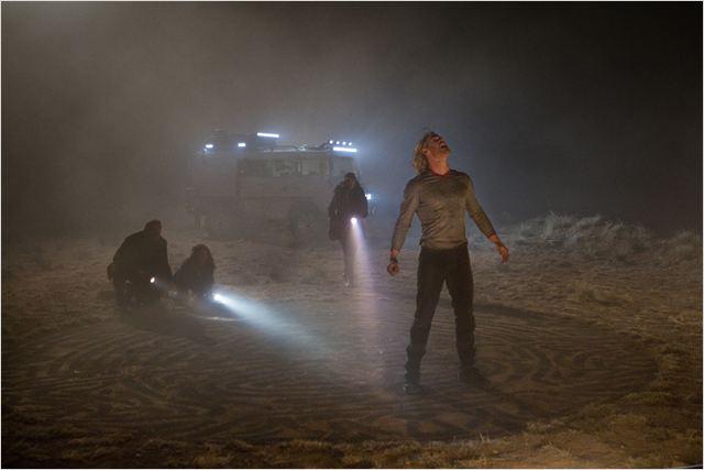 Thor : Photo Chris Hemsworth, Kat Dennings, Natalie Portman, Stellan Skarsgård