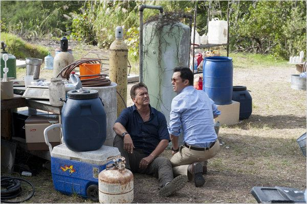 Burn Notice : photo Bruce Campbell, Jeffrey Donovan