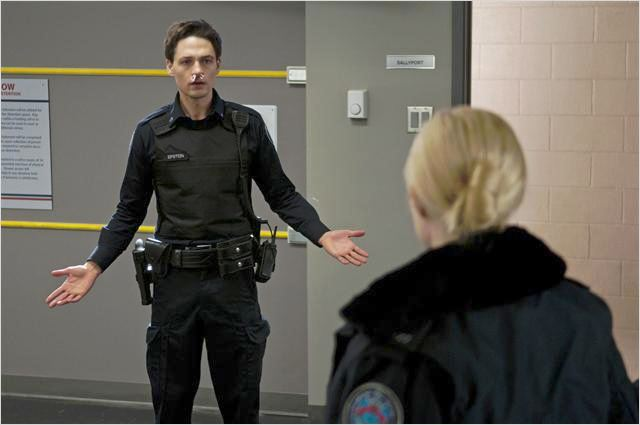 Rookie Blue : photo Charlotte Sullivan, Gregory Smith