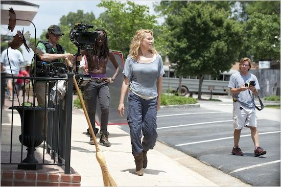 Photo Danai Gurira, Laurie Holden