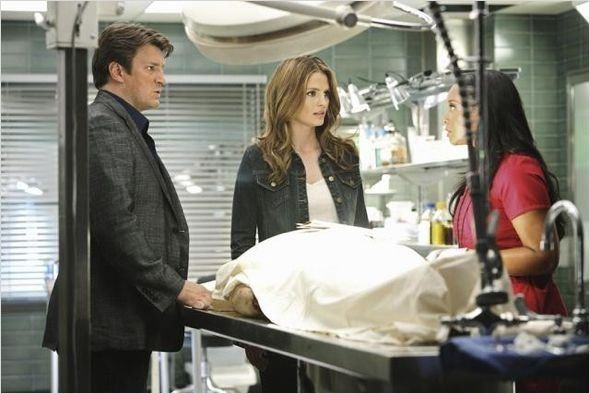 Photo Nathan Fillion, Stana Katic, Tamala Jones