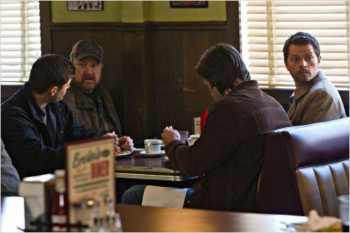 Photo Jared Padalecki, Jensen Ackles, Jim Beaver, Misha Collins