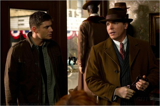 Supernatural : photo Jensen Ackles, Nicholas Lea